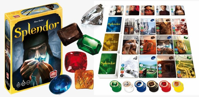 Splendor-Board-Game-Components